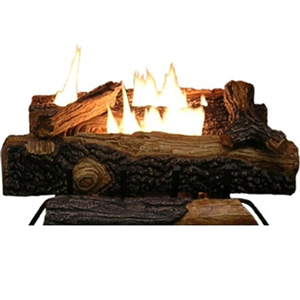 Emberside Sure Heat Mountain Oak Dual Burner