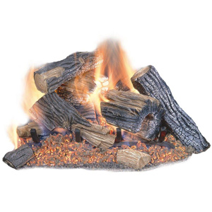 Emberside Sure Heat Vented Gas Log Set
