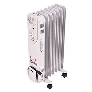 Tangkula 5-Fin Thermostat Radiator Heater