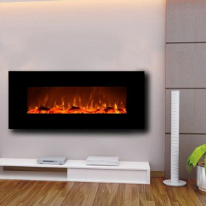 Touchstone Onyx Wall Hanging Electric Fireplace