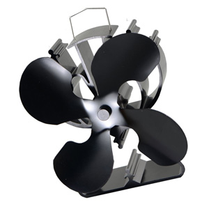 VODA 4-Blade heat Powered Stove Fan