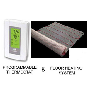 Warming Systems Electric Floor Heating System