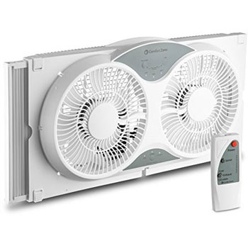 BOVADO USA Twin Window Cooling Fan