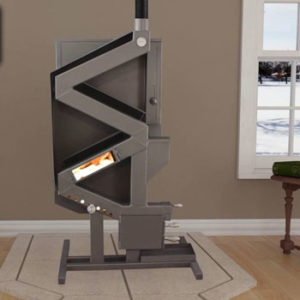 US Stove Company US Wiseway Non-Electric Pellet Stove