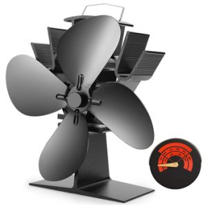 CWLAKON Heat Powered Stove Fan