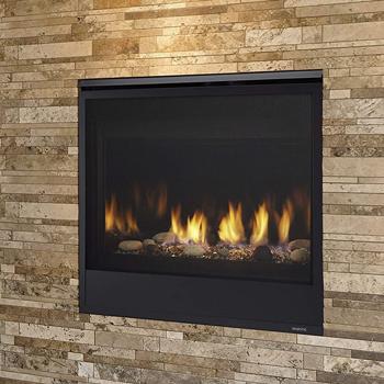 Majestic Quartz QUARTZ32IN Direct Vent Natural Gas Burning Fireplace